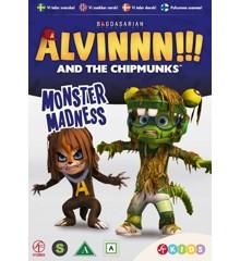 Alvin og de frække jordegern - Sæson 2 Vol. 4 - Monster-vanvid - DVD