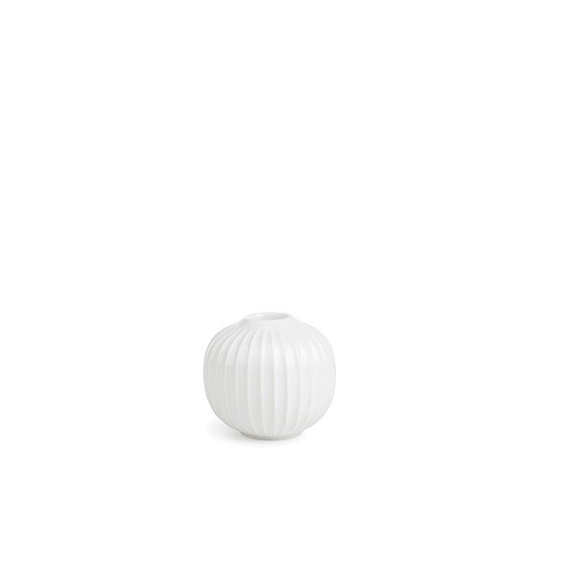 Kähler - Hammershøi Candle Holder Medium - White (692342)