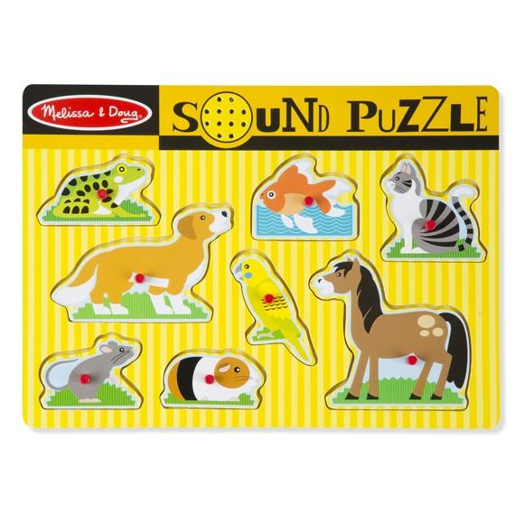Melissa & Doug - Pets Sound Puzzle (10730)