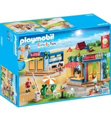 Playmobil- Family Fun - Stor campingplads (70087)