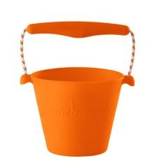 Scrunch Bucket - Blød spand til stranden - Orange