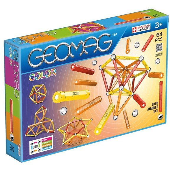 Geomag - Color - 64 stk