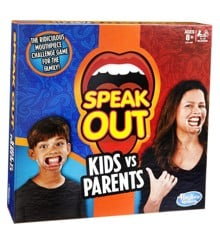 Hasbro Gaming - Speak Out - Kids vs. Parents DK/NO