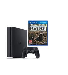 Playstation 4 Console 500GB Black + Days Gone (Soft Bundle)