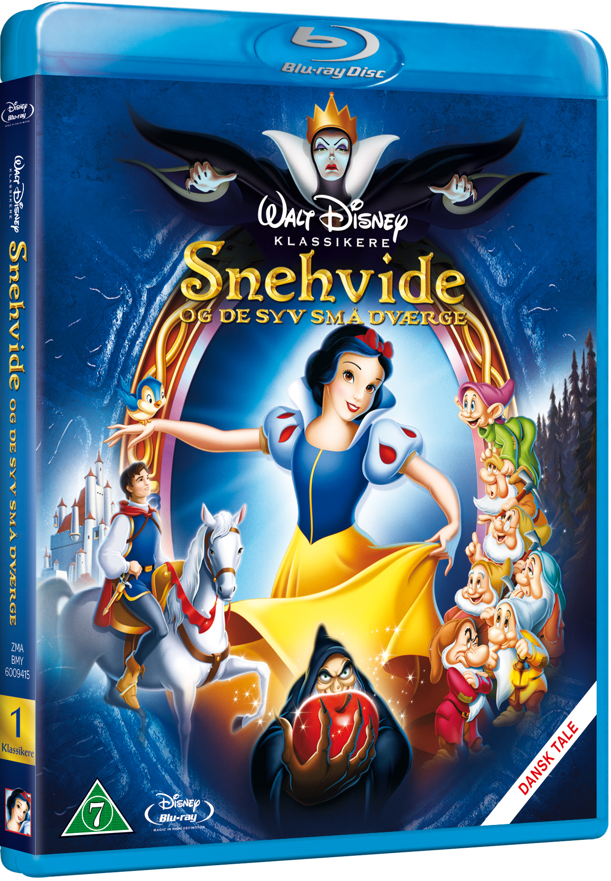Snehvide og de syv små dværge Disney classic #1