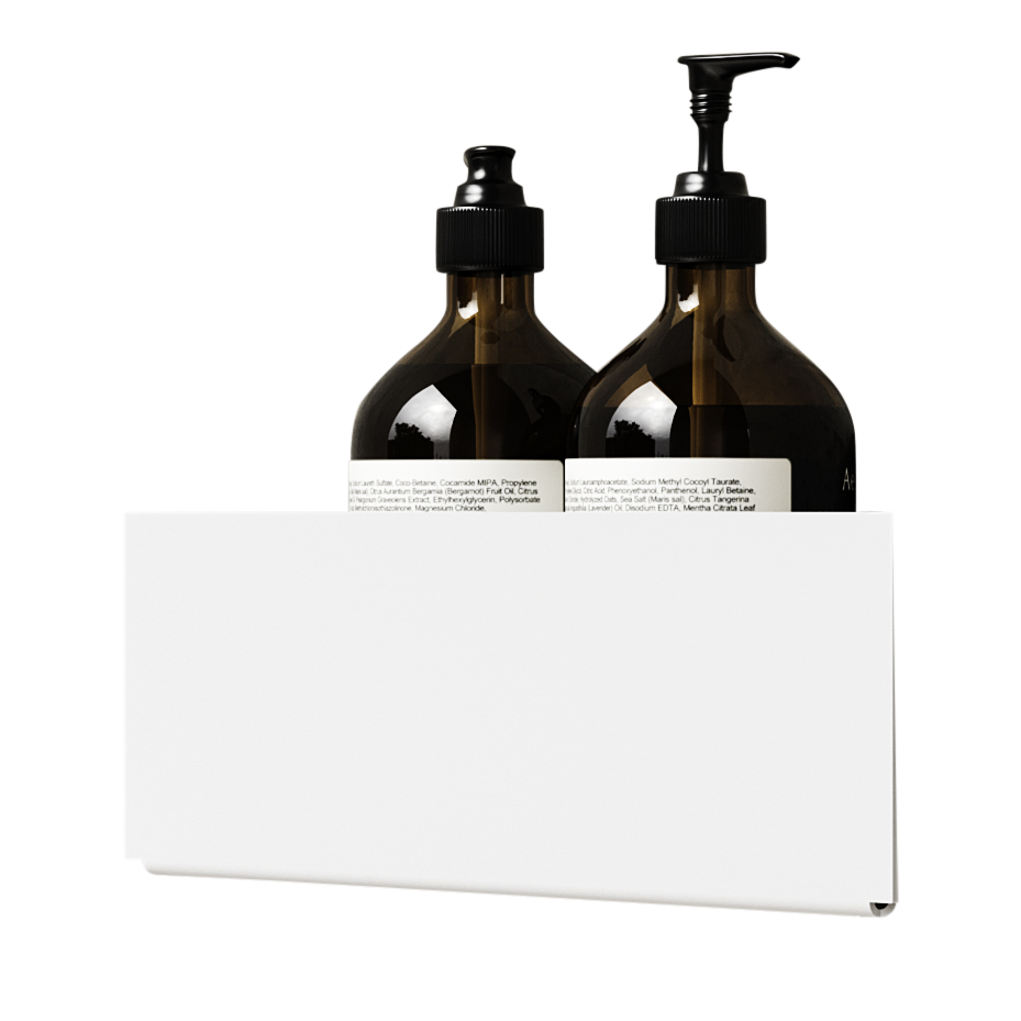 Nichba - Bath Shelf Corner - White (L100109W)