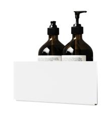 Nichba-Design - Bath Shelf Corner - White (L100109W)