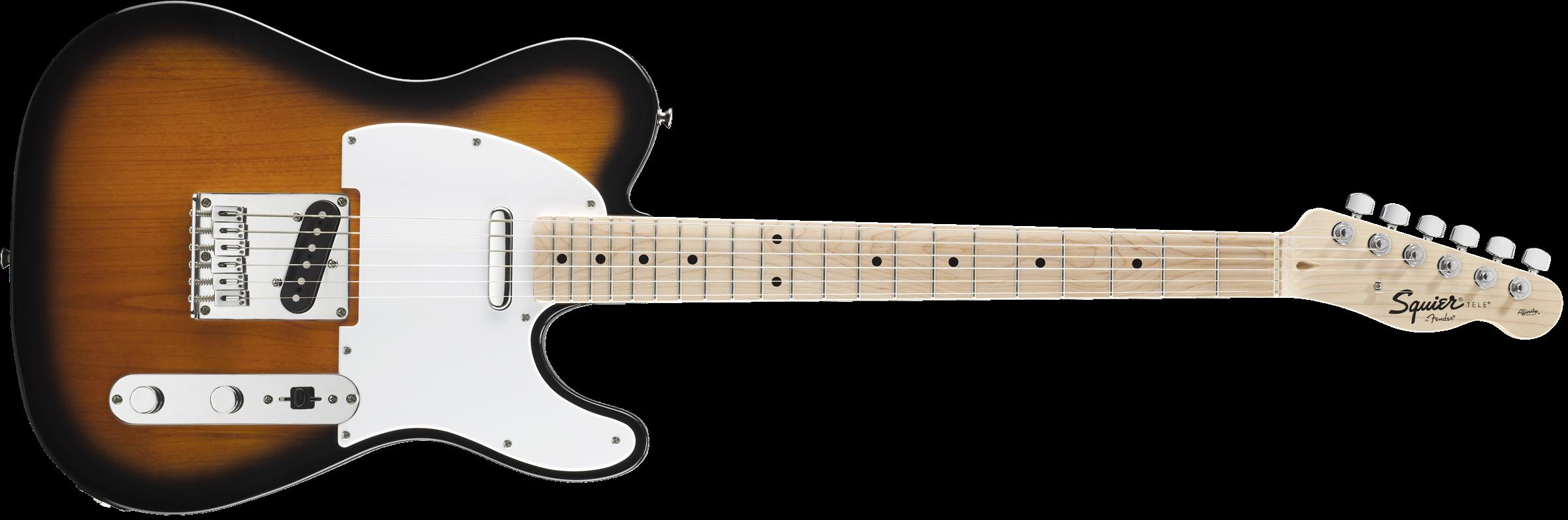 buy squier by fender affinity telecaster electric guitar starter pack 2 2 tone sunburst. Black Bedroom Furniture Sets. Home Design Ideas