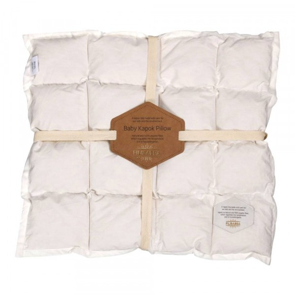Filibabba - Kapok Baby Hovedpude, GOTS Økologisk (45x40)