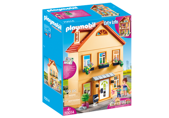 Playmobil - Mit Byhus (70014)