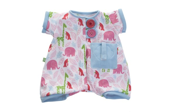 Rubens Barn - Pocket Friends Pink Pajamas (120102)