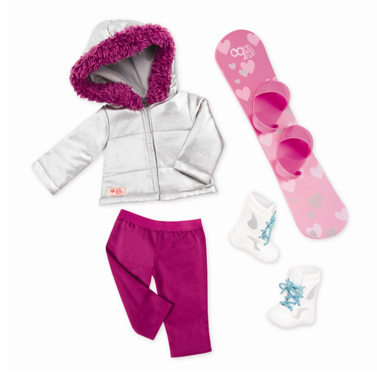 Our Generation - Dolls Clothing - Deluxe Snowbord Winter Outfit (730319)