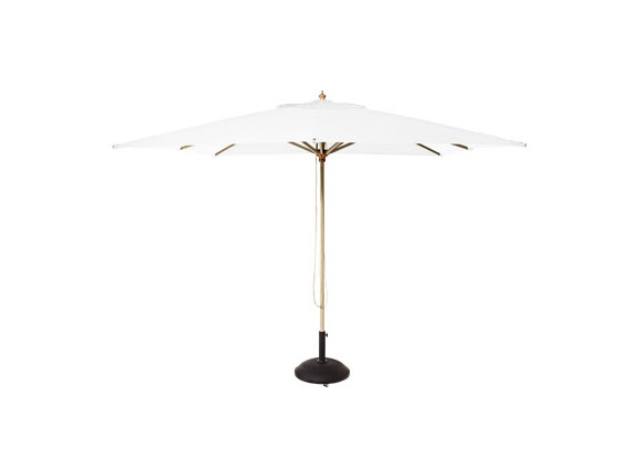 Cinas - Alezio Umbrella Square 3 x 3m 1 pole - Off White (6015015)