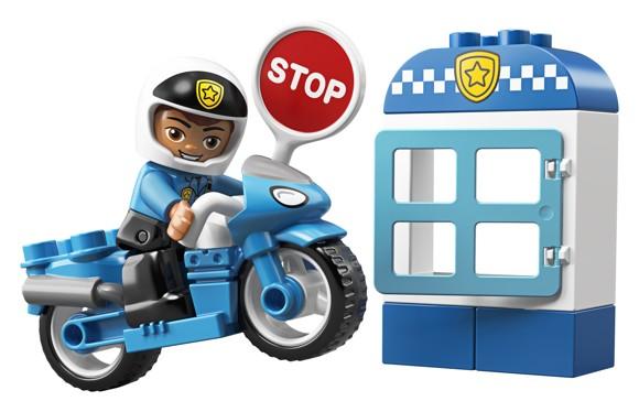 LEGO DUPLO - Police Bike (10900)