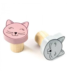 Smallstuff - Wooden Hooks - Cat