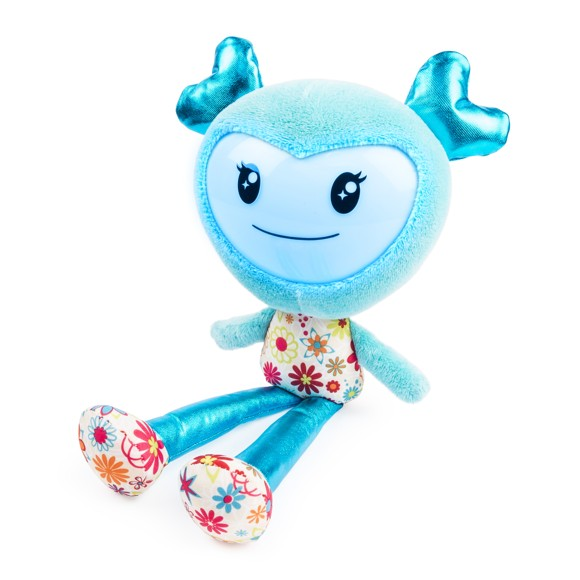 Brightlings - Interactive Singing Plush - Teal (danish)