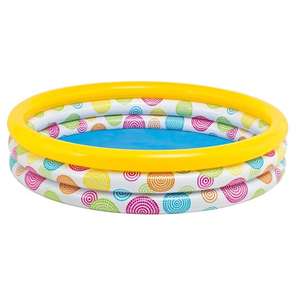INTEX - Wild Gometry Pool with 3 Rings  (330 L) (658439)