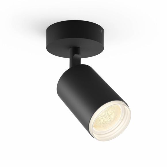 Philips Hue - Fugato Single spot Black - White & Color Ambiance