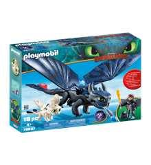 Playmobil - Hiccup and Toothless Playset (70037)
