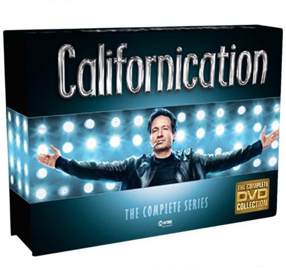 Californication Box - Komplet - Sæson 1-7 (16 disc) - DVD