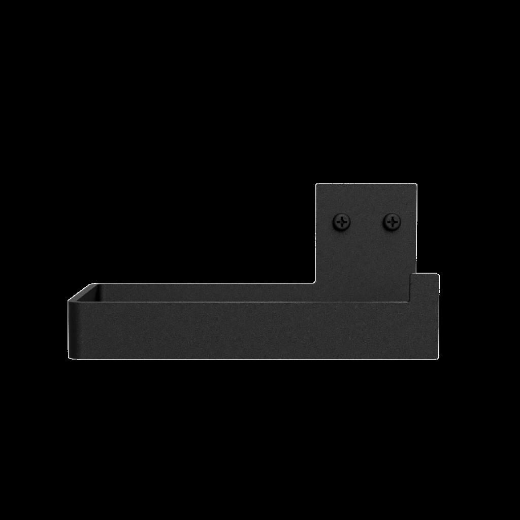 Nichba-Design - Toilettenpapierhalter - schwarz  (L100101)