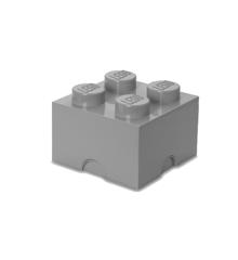 Room Copenhagen - LEGO Opbevaringskasse Brick 4 - Sten Grå