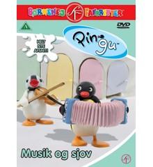 Pingu 10: Musik og sjov - DVD