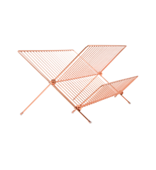 Rice - Metal Dish Rack Rose Gold
