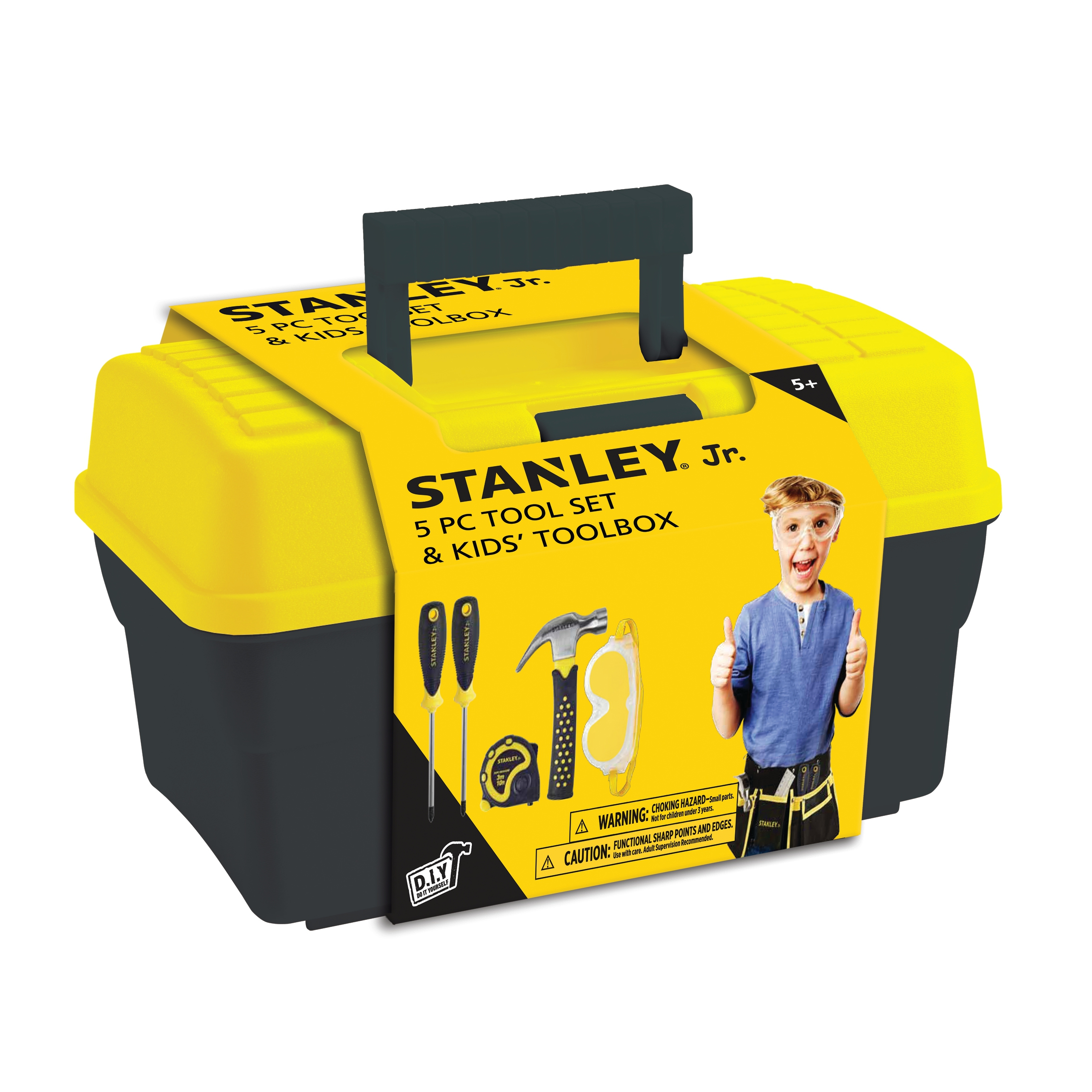 Stanley - Toolbox with 5 parts (TBS001-05-SY)
