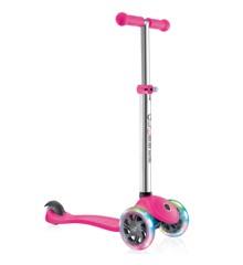 GLOBBER - Løbehjul- PRIMO m/Lys V2 - Pink