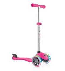 GLOBBER - Scooter - PRIMO LIGHTS V2 - Pink