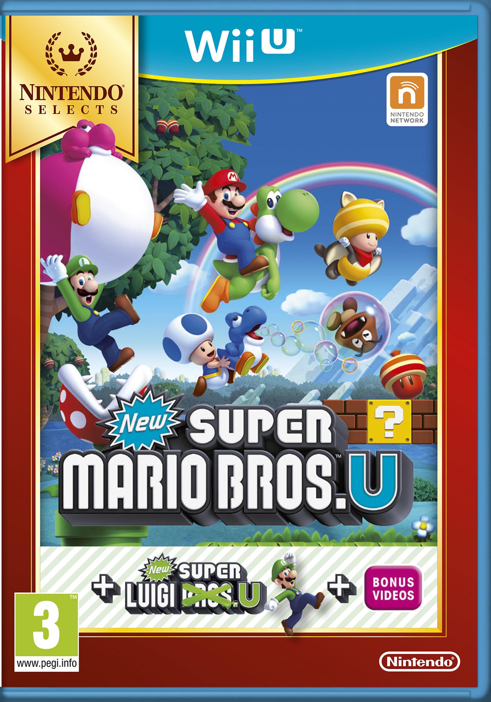 New Super Mario Bros. U + New Super Luigi U (Selects)