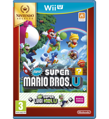 New Super Mario Bros. U + New Super Luigi U (Selects)