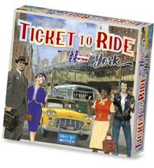 Ticket to Ride - New York (English)