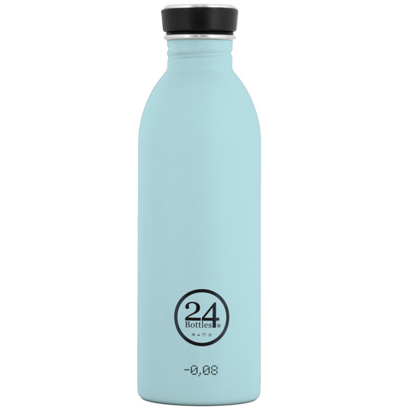 24 Bottles - Urban Bottle 0,5 L - Sky Blå