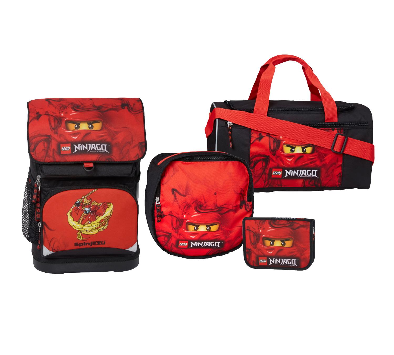Køb LEGO Lille skoletaske sæt Ninjago Kai