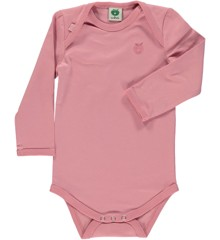 Småfolk - Organic Basic Longsleved Body - Blush