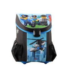 LEGO - EASY Skoletaske Sæt (3pcs) - City - Politi