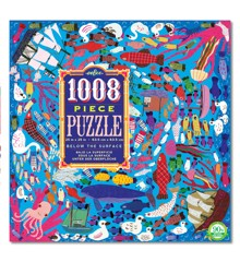 eeBoo - 1008 pcs Puzzle, Below Surface