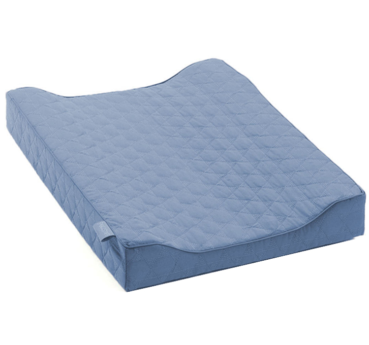 Smallstuff - Quilted Changing Pad - Denim