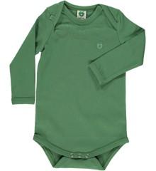 Småfolk - Økologisk Basis Langærmet Body - Elm Grøn