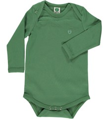 Småfolk - Organic Basic Longsleved Body - Elm Green