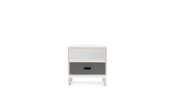 Normann Copenhagen - Kabino Bedside Table - Grey (601054)