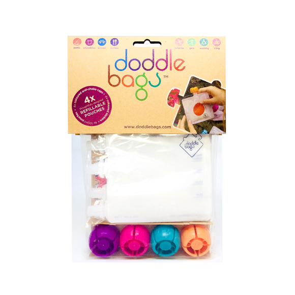 doddle - doddlebags 4 pcs