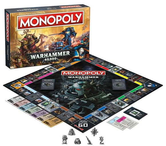Monopoly - Warhammer 40K (English) (WIN35484)