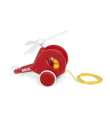 BRIO - Pull Along Helicopter (30227)