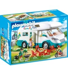 Playmobil- Family Fun - Autocamper (70088)