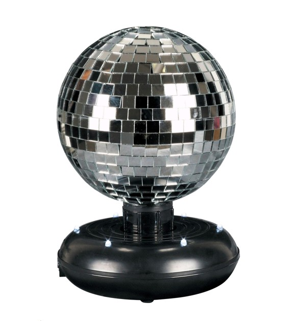 Music - LED Mirror Disco Ball, 16 cm (501003)