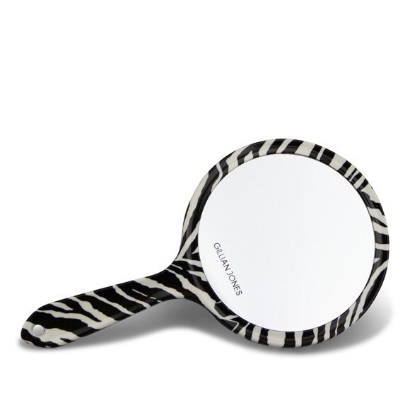 Gillian Jones - Tosidet Håndspejl - Zebra