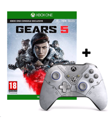 Gears 5 + Xbox One Wireless Controller Kait Diaz Limited Edition